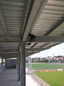 Sonorización del campo de deportes Nou Miramar por parte de Prisco Electrónica