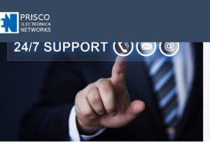 Nuesvo servicio técnico Prisco Electrónica Networks las 24 horas del día