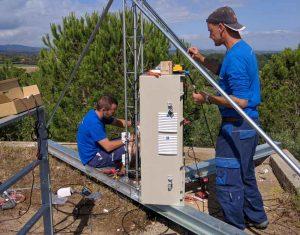 Gualta ja té internet i telefonia gràcies al node de wimax de Prisco Electrònica