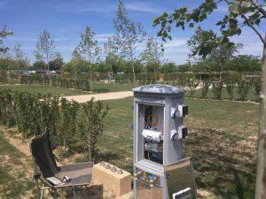 Firbra óptica FTTH directa a bungalous i parcel·less del càmping Las Dunas
