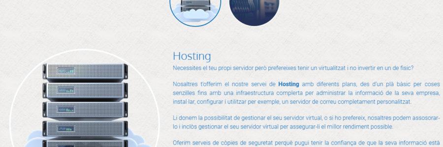 Més seguretat i més velocitat al servei de hosting de Prisco Electrònica