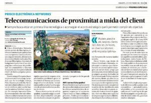 Prisco Electrònica Networks ofereix serveis de telecomunicacions de proximitat a mida del client