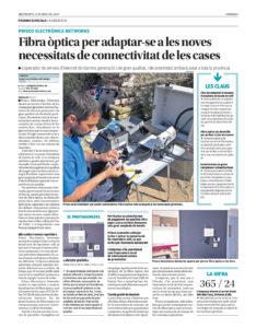 Fibra Óptica per adaptar-se a les noves necessitats de connectivitat de les cases, per Prisco Electrònica