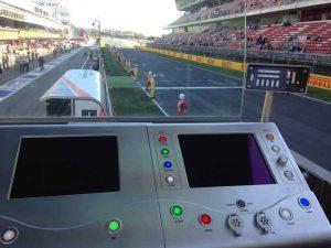 Control de pista Circuit de Catalunya amb Prisco Electrónica
