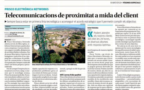 Telecomunicaciones de proximidad a medida