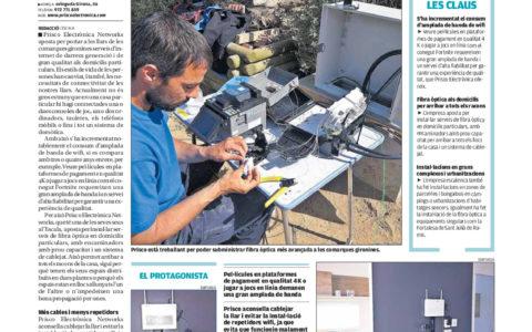 Fibra óptica para adaptarse a las necesidades de conectividad de los hogares